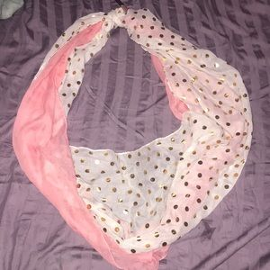 NWT Cute double scarf